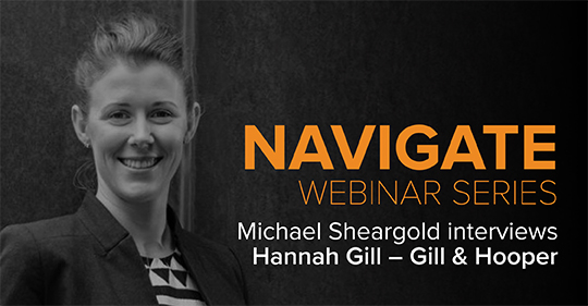 Michael Interviews Hannah Gill Navigate Series