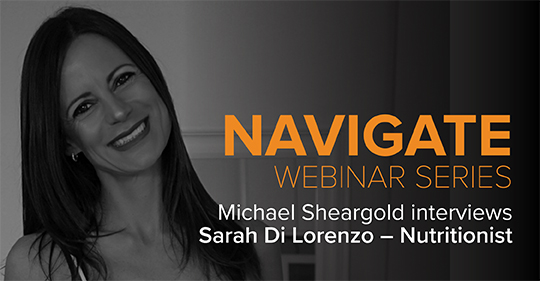 Michael Interviews Sarah Dilorenzo Navigate Series
